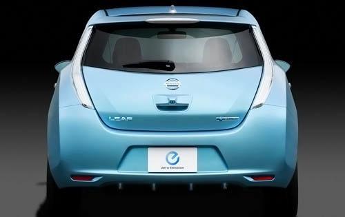 2011 Nissan Leaf, Back View, exterior, manufacturer