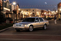2010 Mercury Grand Marquis, Front Left Quarter View, exterior, manufacturer