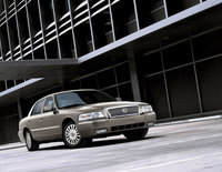 2011 Mercury Grand Marquis, Front Right Quarter View, exterior, manufacturer