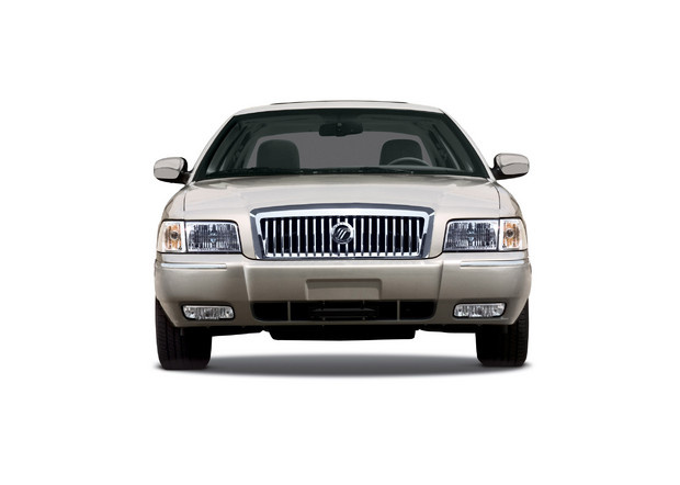 2011 Mercury Grand Marquis, Front View, exterior, manufacturer