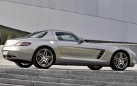 2011 Mercedes-Benz SLS-Class, Right Side View, exterior, manufacturer