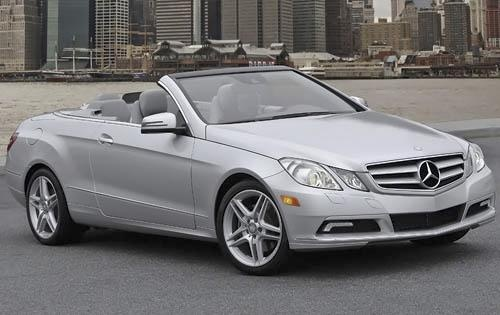 2011 Mercedes-Benz E-Class, Front Right Quarter View, exterior, manufacturer