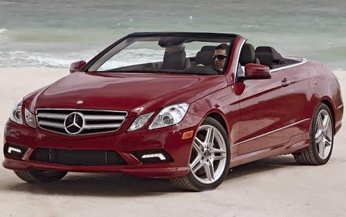 2011 Mercedes-Benz E-Class, Front Left Quarter View, exterior, manufacturer