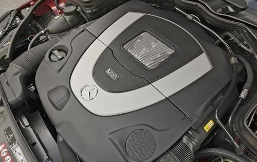 2011 Mercedes-Benz E-Class, Engine View, engine, manufacturer