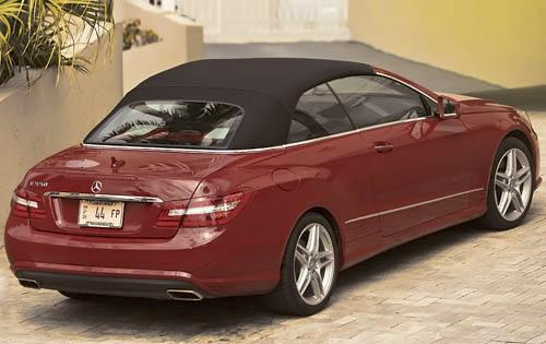 2011 Mercedes-Benz E-Class, Back Right Quarter View, manufacturer, exterior