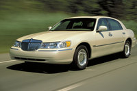 2002 Lincoln Town Car, Front Left Quarter View, exterior, manufacturer