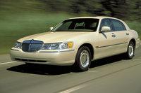 2002 Lincoln Town Car, Front Left Quarter View, exterior, manufacturer