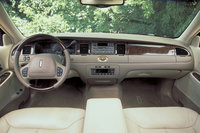 2011 Lincoln Town Car, Interior View, interior, manufacturer