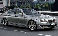 2011 BMW 5 Series, Front Right Quarter View, manufacturer, exterior
