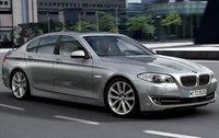 2011 BMW 5 Series, Front Right Quarter View, exterior, manufacturer