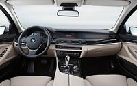 2011 BMW 5 Series, Interior View, interior, manufacturer