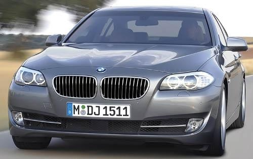2011 BMW 5 Series, Front View, exterior, manufacturer