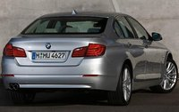 2011 BMW 5 Series, Back Right Quarter View, exterior, manufacturer