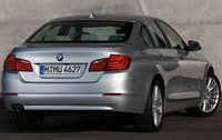2011 BMW 5 Series, Back Right Quarter View, manufacturer, exterior