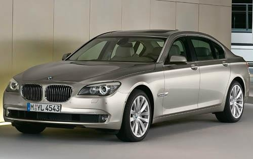 2011 BMW 7 Series, Front Left Quarter View, exterior, manufacturer