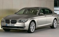 2011 BMW 7 Series, Front Left Quarter View, manufacturer, exterior