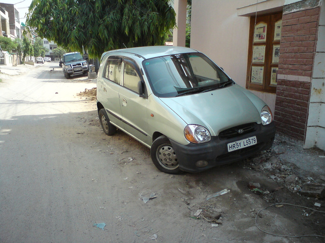 2002 Hyundai Santro (India). My car!