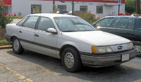 1988 Ford Taurus, not my car but this is what it looked like, exterior