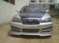 2003 Hyundai Elantra GLS, Evil Grin, exterior