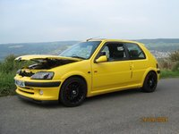 2001 Peugeot 106, The Yellow Fellow, exterior, interior