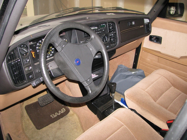 Picture of 1988 Saab 900, interior