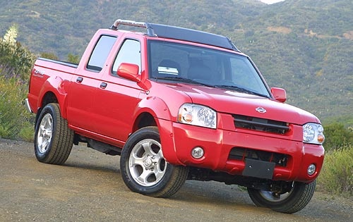 Picture of 2003 Nissan Frontier 4 Dr SE 4WD Crew Cab SB