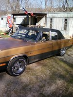 1974 Plymouth Valiant, After some shine Cagefighter, exterior