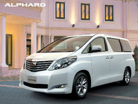 2008 Toyota Alphard Overview