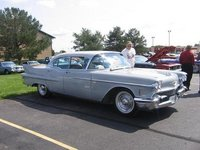 1958 Cadillac Sixty Special, Lucy at the Culver's car show, exterior