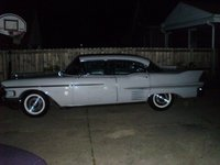 1958 Cadillac Sixty Special, Lucy at night., exterior