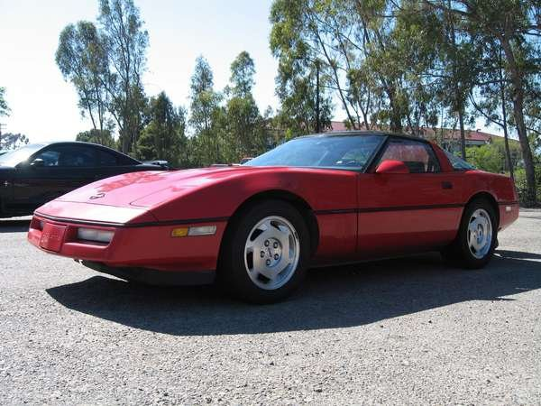1988 Chevrolet Corvette Coupe, :( Someday we shall ride again old buddy!,