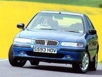 1999 Rover 400, The car I drove is not the one in this photo., exterior