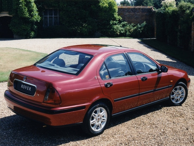 1999 Rover 400, The car I drove is not the one in this photo., exterior, gallery_worthy