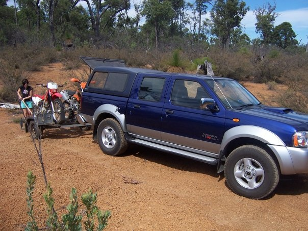 2007 Nissan Navara, Start of 150km ride, exterior, gallery_worthy