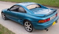 1992 Toyota MR2 Turbo coupe, Toyota MR2 GT-S coupe, turbo (1992 Jap import) in aquamarine, exterior, gallery_worthy