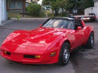 1981 Chevrolet Corvette Coupe RWD, 383 stroker 450 hp, exterior, gallery_worthy