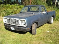 1978 Dodge D-Series, this is one like mine but not wit that type of back end, exterior