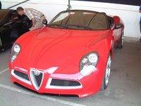 2009 Alfa Romeo 8C Spider, Alfa Romeo 8C Spyder, exterior