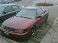 1995 Honda Accord EX Coupe, the NEw project i paid 800 bucks for it WOrth more than that