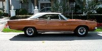 1968 Plymouth Road Runner, not this color or car but it is a roadrunner, exterior