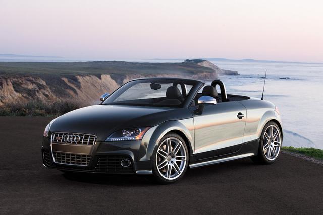 2010 Audi TT 2.0T quattro Premium Plus Coupe AWD, 1/4 mile data 14.220 seconds 99.020 MPH trap speed, exterior, gallery_worthy