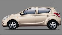 2010 Hyundai i20, side view , exterior, manufacturer