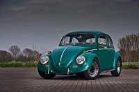 1969 Volkswagen Beetle, green, exterior