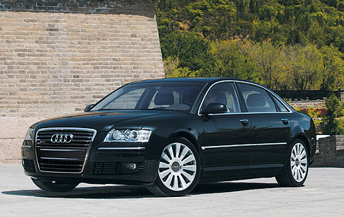 Audi A8 Awesome view