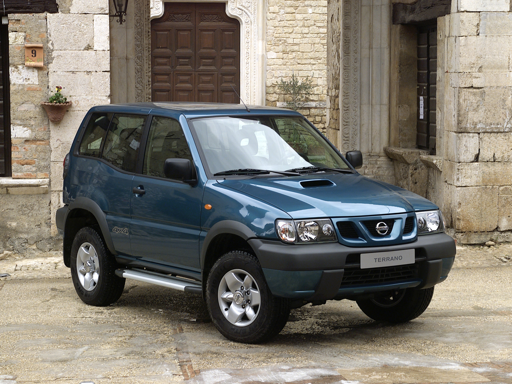 2005 Nissan Terrano II, The car I drove is not the one in this photo