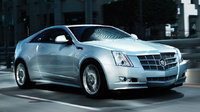 2011 Cadillac CTS Coupe, Front Right Quarter View, exterior, manufacturer