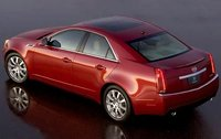 2011 Cadillac CTS, Back Left Quarter View, exterior, manufacturer