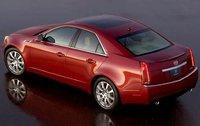 2011 Cadillac CTS, Back Left Quarter View, exterior, manufacturer
