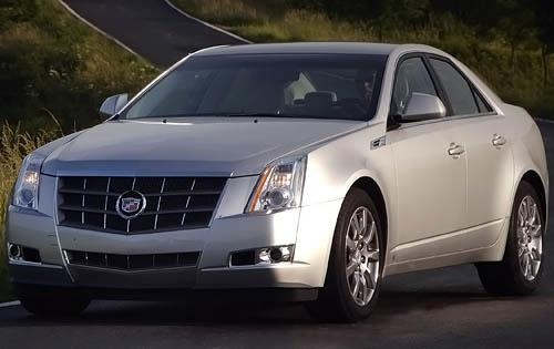 2011 Cadillac CTS, Front Left Quarter View, exterior, manufacturer