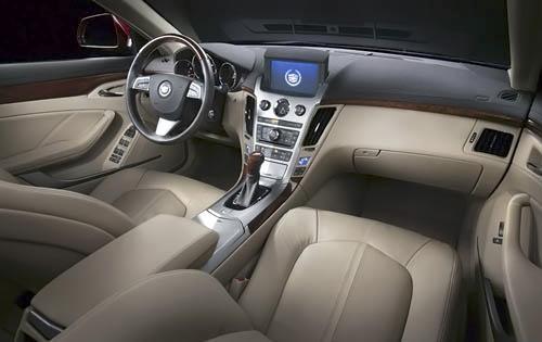 2011 Cadillac CTS, Interior View, interior, manufacturer